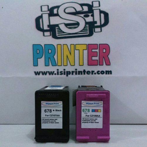 HP 678 Back & Color